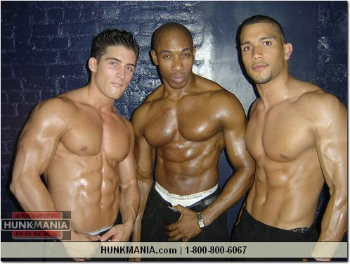 A variety of men are available for your party.